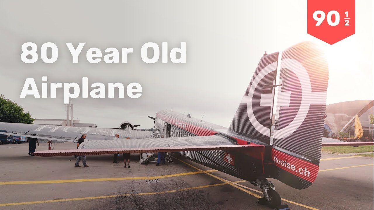 80-year-old airplane