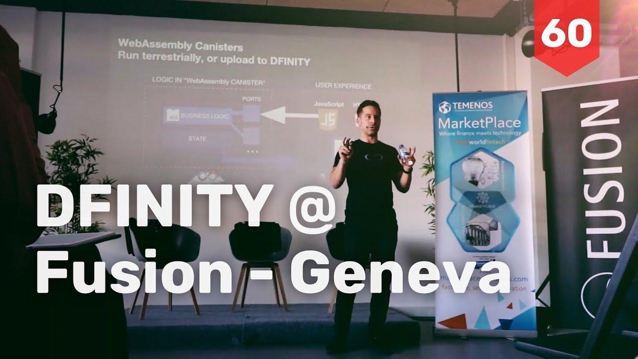 presenting DFINITY