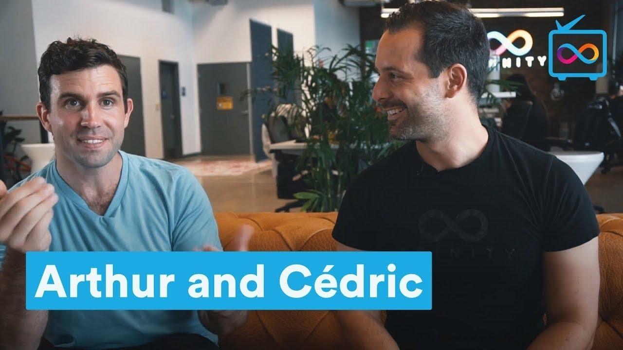Arthur and Cedric
