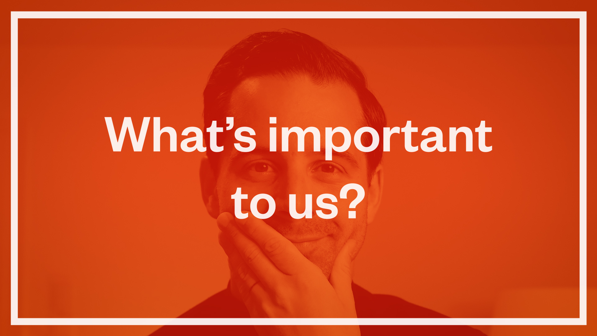 What's Important To Us (when we look at your startup)