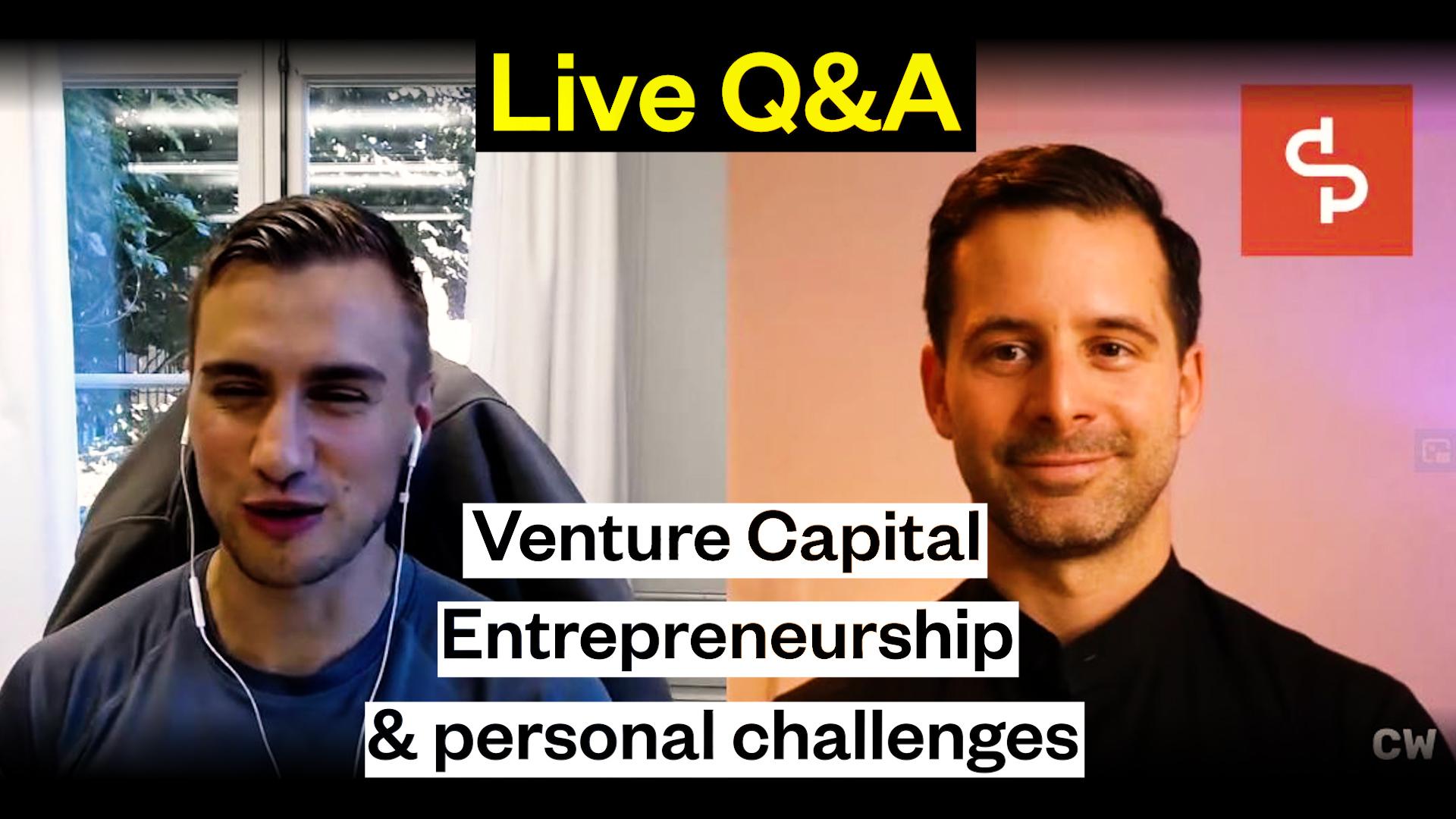 Swisspreneur: Live Q&A with Silvan Krähenbühl & Cédric Waldburger