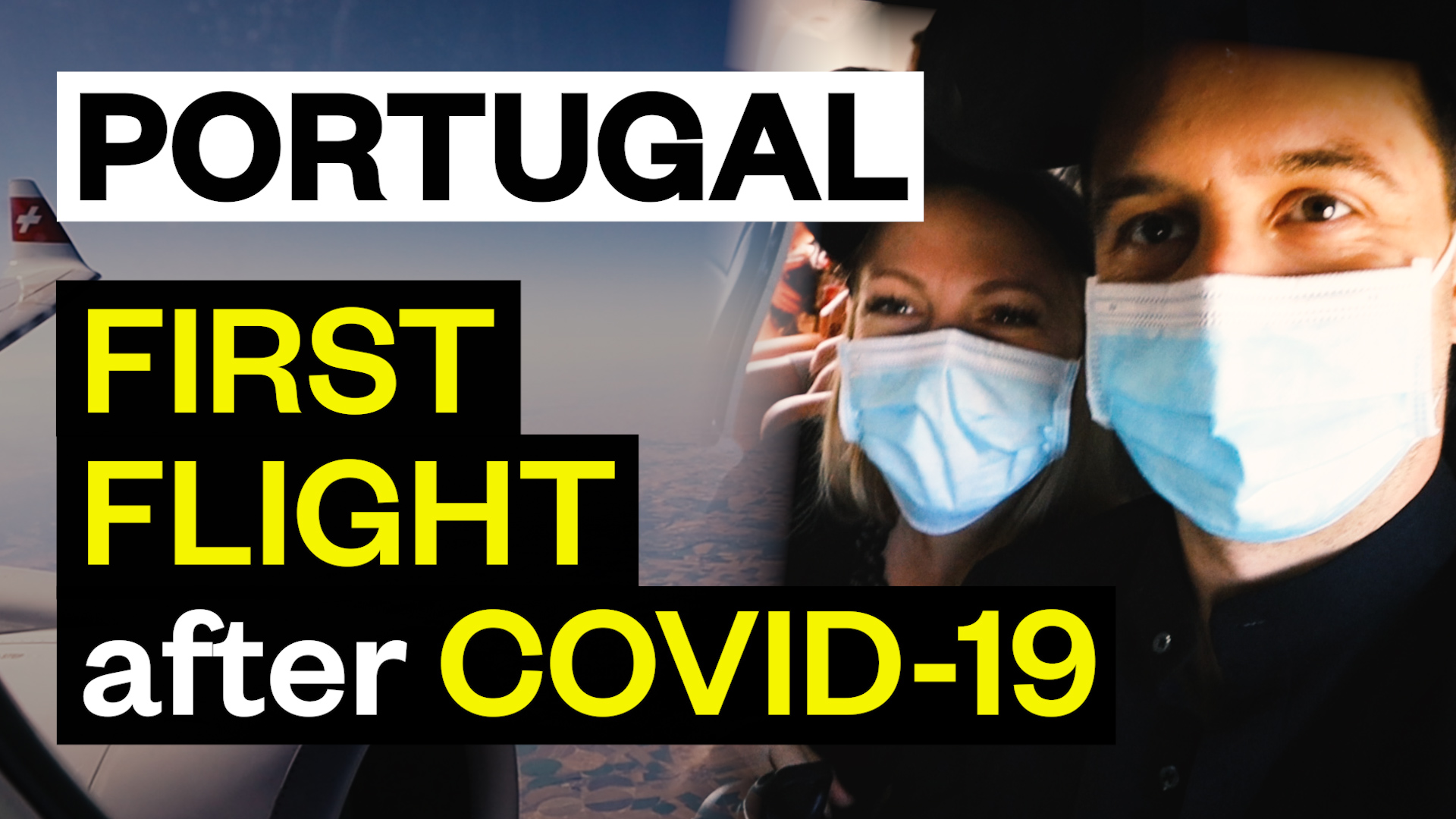 Portugal: FIRST FLIGHT After COVID-19