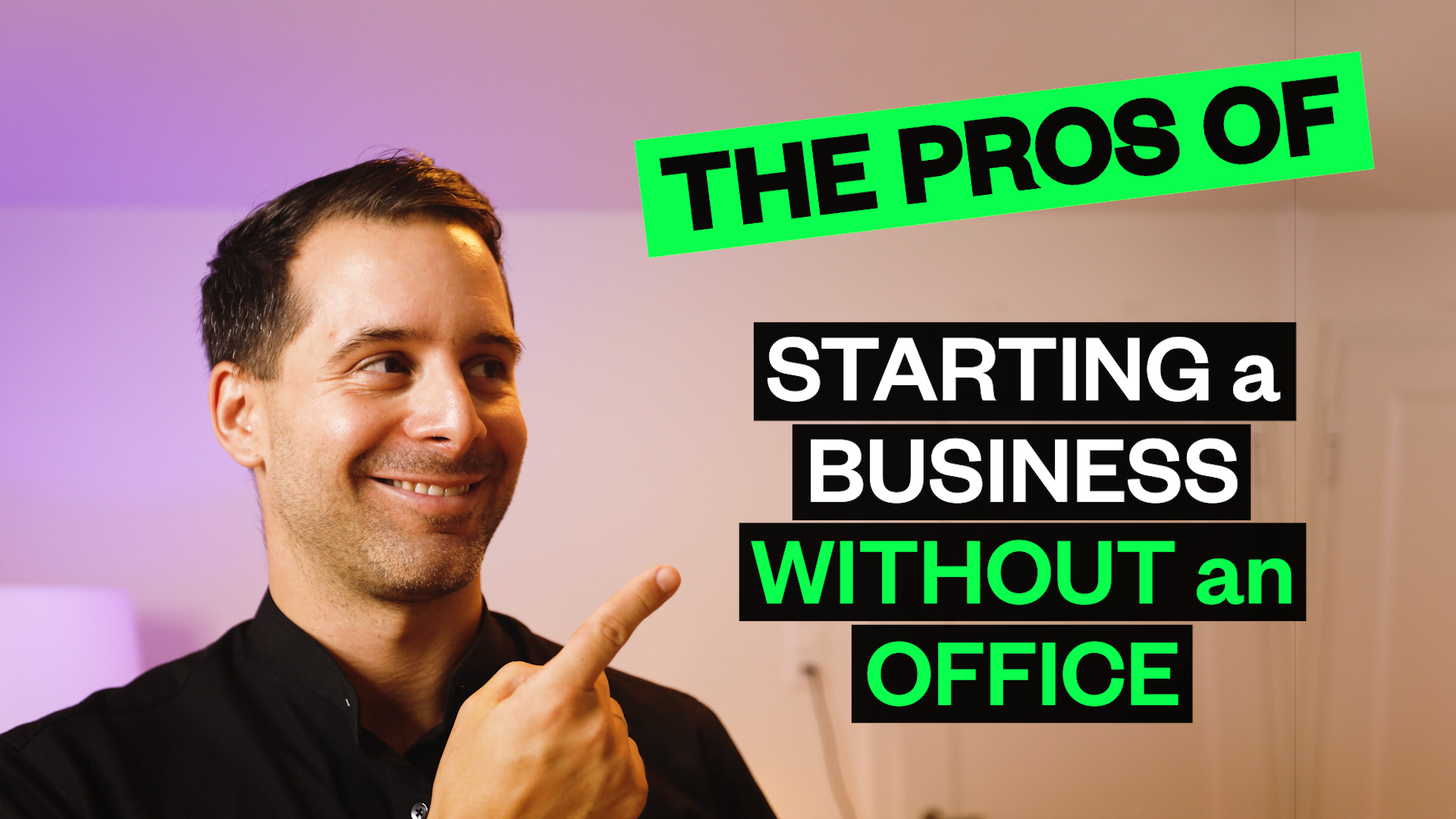 The Pros Of Starting A Business Without An Office
