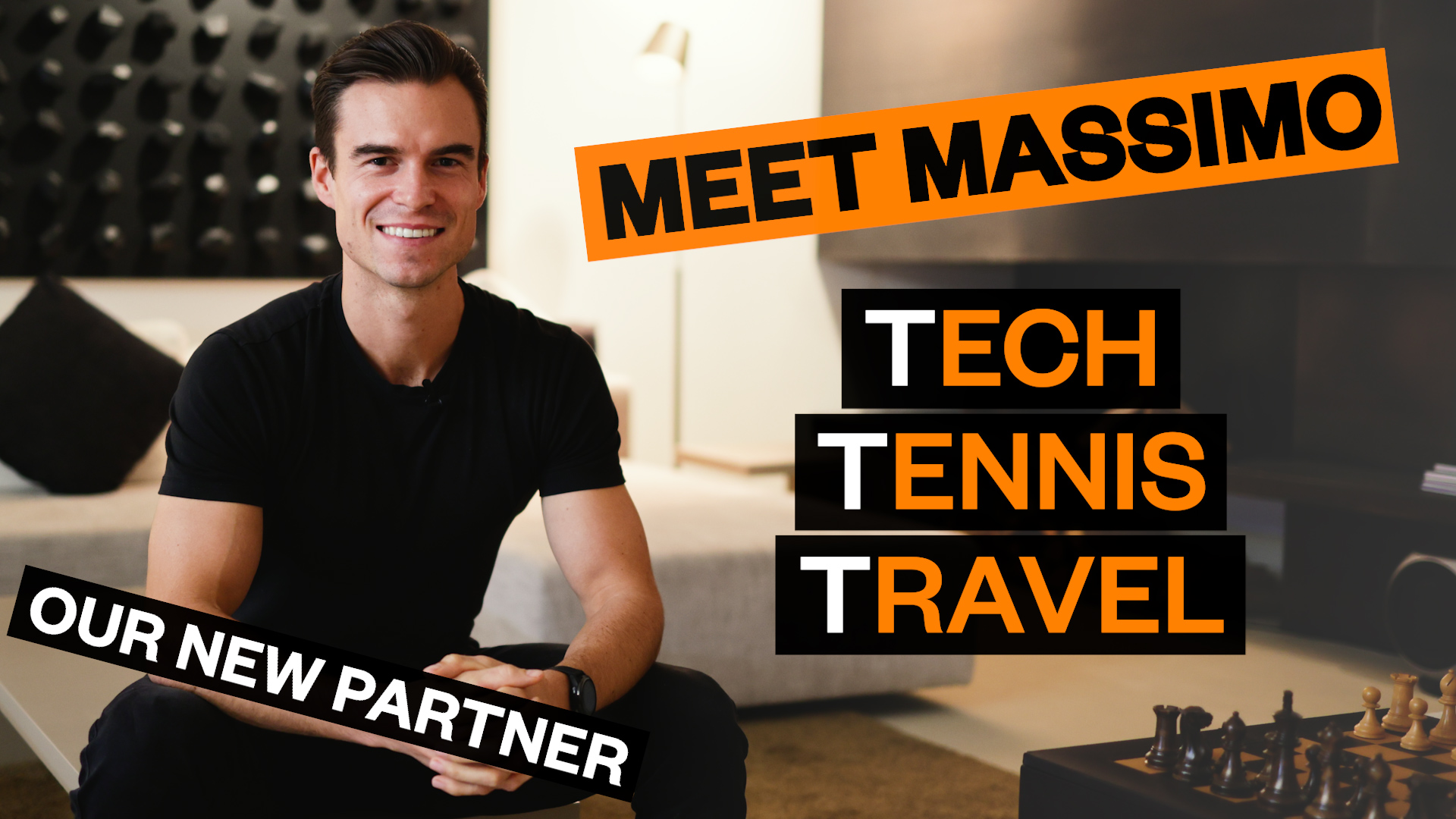 Meet our New Partner: Tech, Tennis, Travel